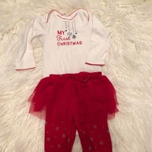 Carter's My First Christmas Outfit